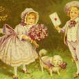 ヴィンテージのポストカード