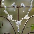 花嫁さんのネックレスとイヤリング