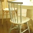 水色の椅子
