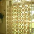 モチーフレースのカーテン