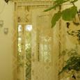玄関のカーテン